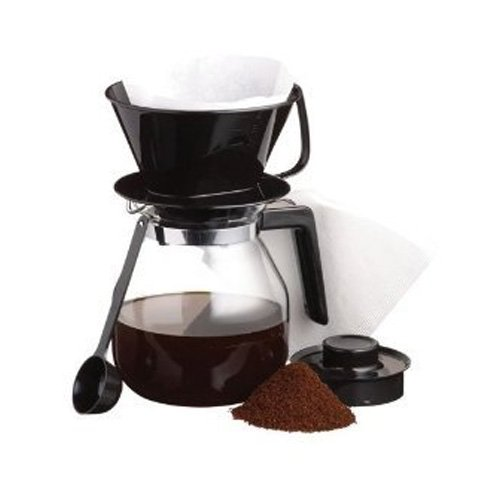 41OxXMgcbbL. SS500  - LE'XPRESS KitchenCraft Drip Coffee Maker Jug Set