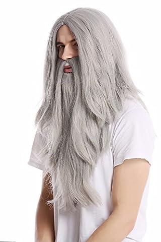 Gandalf Le Gris - WIG ME UP - PW0210-ZA68E Perruque longue