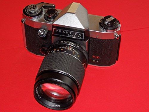Camera - PRAKTICA super TL - analoge Spiegelreflexkamera inkl. Objektiv PORST Tele 1:2.8 / 135 mm auto n - sehr feines SAMMLERSTÜCK ## analog technique by PHOTOFROG ##