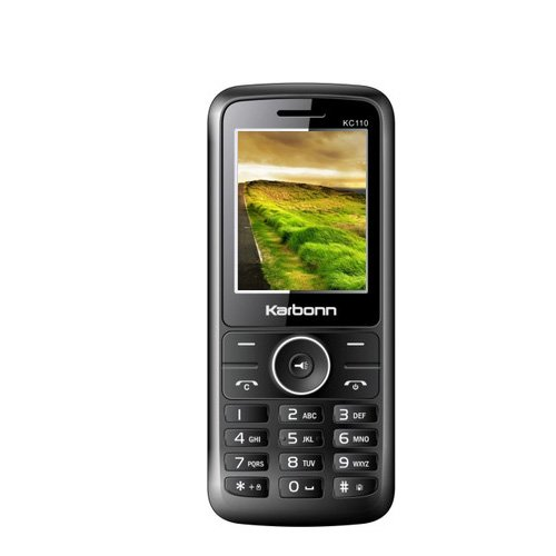 Karbonn KC110 CDMA Mobile (Black Red)