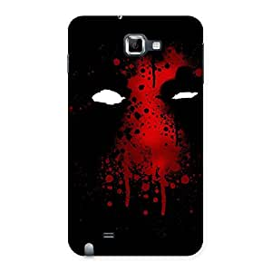 Special Horror Red Back Case Cover for Galaxy Note