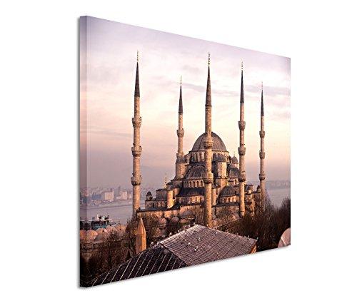 Modernes Bild 120x80cm Architekturfotografie – Blaue Moschee in Istanbul