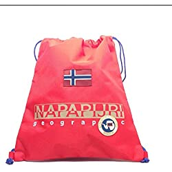 Gym backpack | Napapijri North Cape | 5ANN3R22-Red Pepper
