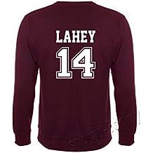 Unbrandeed - Sudadera de Lacrosse de BEACON HILLS, personalizado con el nombre de McCall - Lahey - Stilinski