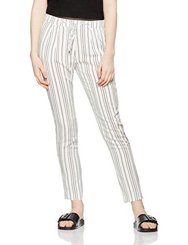 find-jogger-pantalones-para-mujer-blanco-stripe-medium