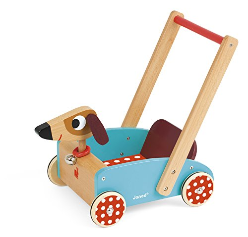 Janod - J05995 - Chariot Crazy Doggy (bois)