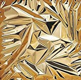 PARTY DISCOUNT Lumifol-Folie, 10m-Rolle, 120cm Breite, Gold