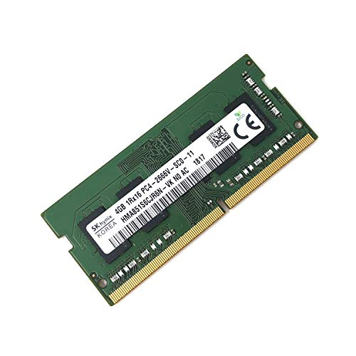 Notebook-speicher Retail-box (SK HYNIX hma851s6cjr6 N - VK Non ECC PC4-2666 V 4 GB DDR4 2666 MHz 260pin SDRAM SODIMM Single Kit Arbeitsspeicher Laptop - OEM)