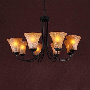 Kai 60W *8 Reaationary Up Lighting-Lampadario a candelabro con 8 luci