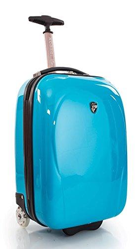 ... 50% SALE ... PREMIUM DESIGNER Hartschalen Koffer - Heys Core XCase Mini Blau - Handgepäck Türkis