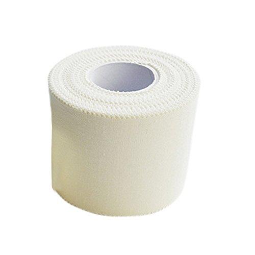 Behavetw Sport Muskel-Tape für Sportler, Schmerzlinderung, bietet Muskelunterstützung, Verletzungsprävention, atmungsaktive medizinische Reibbare Bandage, Wie abgebildet, 3.8cmx10m