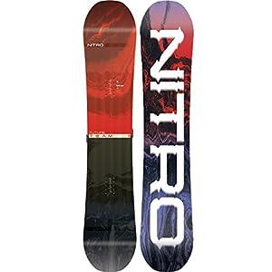 Nitro Snowboards Jungen Future Team BRD'19 Twin Camber Rocker Freestyle Jib-Stick Boards