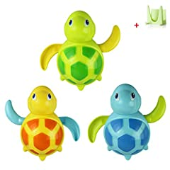 Idea Regalo - Malloom® Bambino Nuotano Giocattolo Tartarughe Piccolo Animale Bagno Giocattolo per il bagnetto