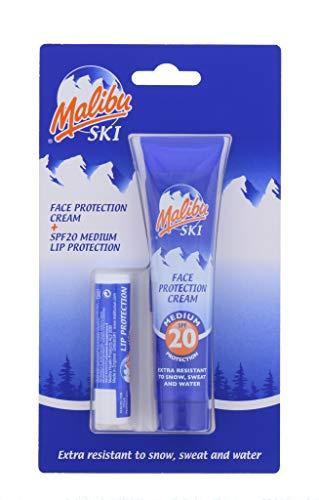 Lippenbalsam-duo-pack (Unbekannt Ski Duo Pack Sun Protection Face Creme 40ml & Lip Balm Gesichtspflege mit LSF 20New, kardiert)
