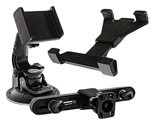 InLine 23155D Kfz Universal Mobile Set Tablet/Handy Halterung für Kopfstütze/Scheibe bis 25,7 cm (10,1 Zoll)