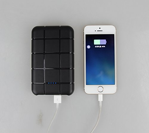 Portronics Power Brick 13000mAH Power Bank (Black)