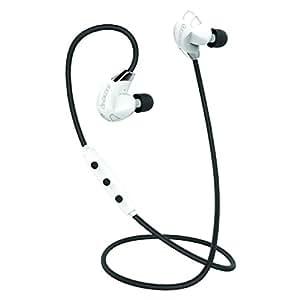 Divacore BLUESKULL - Ecouteurs intra auriculaires sport sans fil aptX HD 10H - Blanc