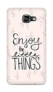 AMEZ enjoy the little things Back Cover For Samsung Galaxy A5 (2016 EDITION)