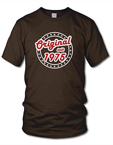 shirtloge - ORIGINAL SEIT 1975 - KULT - Fun T-Shirt - in verschiedenen Farben & Größe Braun