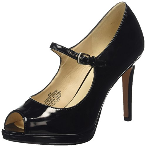 Nine West Emergencee3 Damen Pumps Schwarz (Schwarz)