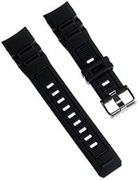 Correa Calypso de pulsera-material de PU negro para Calypso K5656 relojes