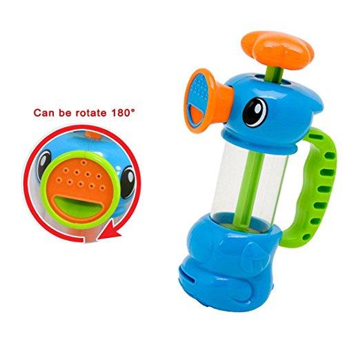SamMoSon Giocattoli Bambino Bambino Doccia Piscina Giochi d'Acqua Duck Design Giocattolo Pompa Acqua