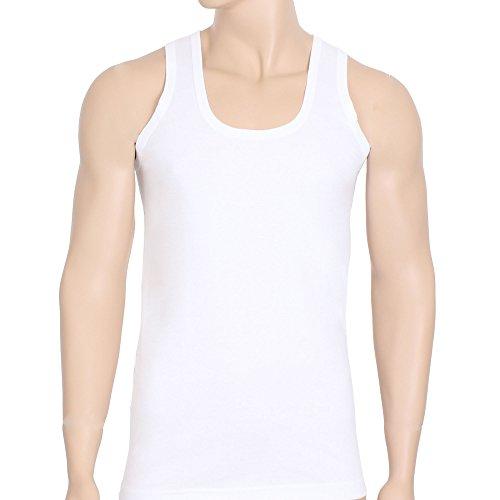 5er Pack Unterhemden für Herren (Muskelshirt's / Achselhemden) Nr. 400  Weiß