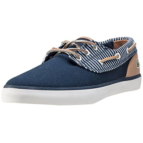Lacoste Jouer Deck 117 2 Mens Boat Shoes Navy - 7 UK