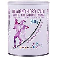 Colágeno hidrolizado en polvo con magnesio, ácido hialurónico y vitamina C – Salud en huesos y articulaciones.