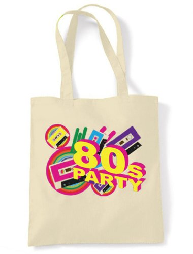 80s Party Tote / Shoulder Bag. Get the party started with this fabulous shopping bag