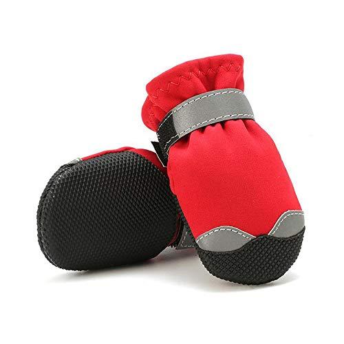 Dog shoes socks Botas Perros Zapatos Mascotas Forro