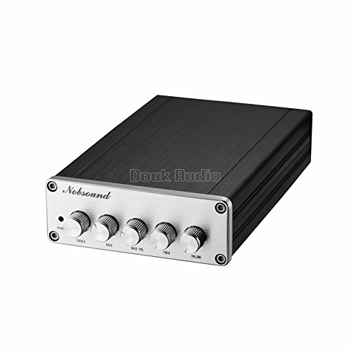 41OxpEELgDL. SS500  - Nobsound HiFi TPA3116D2 2.1 Channel Digital Audio Power Amplifier Stereo Amp 2×50W+100W Subwoofer Treble Bass…