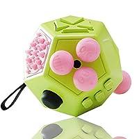 specifiche tecniche:Materiale: ABS e PCDimensioni: 2,28 * 2,87 * 3,07 polliciContenuto del pacco:1 giocattolo di decompressione