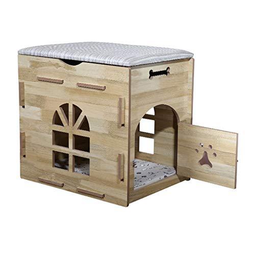 Cama Perros Gato Casa Mascotas Madera casa Mascotas