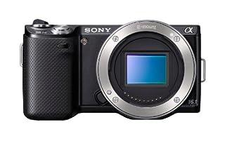 Sony NEX-5NB Systemkamera (16,1 Megapixel, 5,6-fach opt. Zoom, 7,5 cm (3 Zoll) Display, Live View) Gehäuse, schwarz (B005JRI4H0) | Amazon price tracker / tracking, Amazon price history charts, Amazon price watches, Amazon price drop alerts
