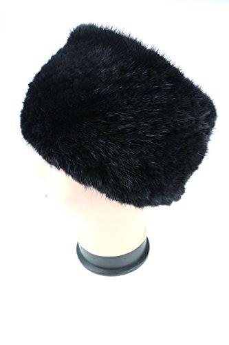 Ysting Donne stretto lavorato a maglia pelliccia di visone fascia