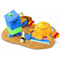 Fisher-Price Mr Men Collectable Friends Pack Just Beachy Little Miss Sunshine