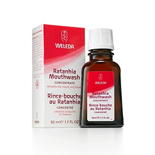 Weleda Ratanhia Mundwasser 50ml - 3er-Pack