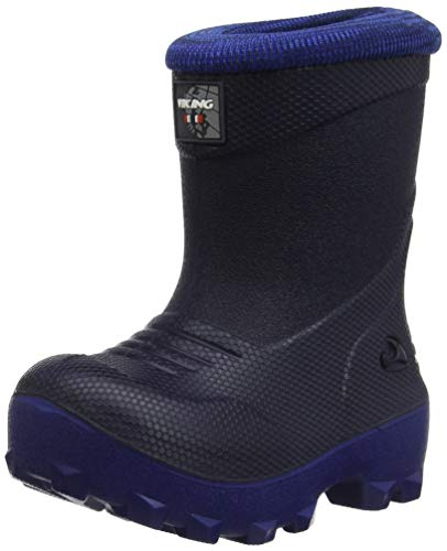Viking Unisex-Kinder Frost Fighter Schneestiefel, Blau (Navy/blue), 28 EU