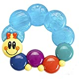 #2: Ole Baby BPA Free Tooth Gel Silicone Soothers Baby Teether Rattle Toy Colourful Activity Toys