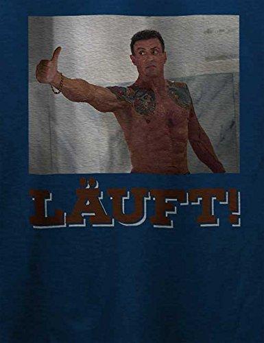 Laeuft 62 T-Shirt Navy Blau