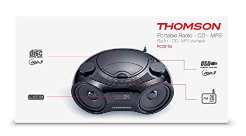 Thomson-RCD-210-Radiorekorder-CD-PlayerMP3-Wiedergabe