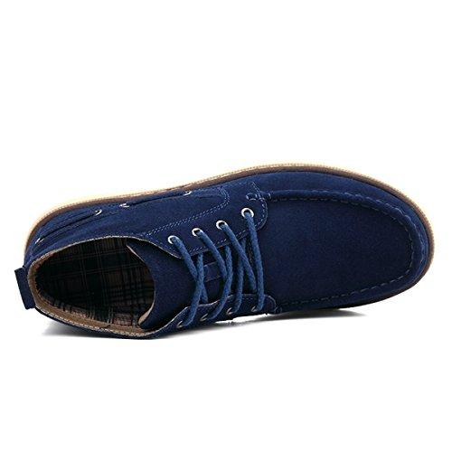 Miyoopark , Chaussures bateau pour homme Bleu