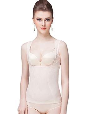 YuanDian Mujer Postparto Camisetas Lencería Moldeadora Faja Top Reductora Delgado Elasticidad Body Faja Slimming...