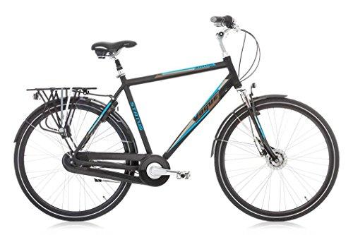 Vogue Status Herren Holland Fahrrad Citybike 28 Zoll 7-Gang Schwarz Blau rh:53cm