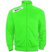 Joma Felpa Victory Con Zip Green/White, Taglia: M