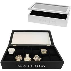 Design Uhrenbox Uhrenschatulle Uhrenkiste Uhrenkasten Uhrenkoffer