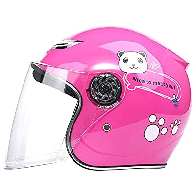 Kids Bike Helmet, Children's Cartoon Bicycle Safety Helmet HD Lens for Toddler and Youth Ages 3-12 Year Old Girls/Boys for Skateboard Bike BMX and Stunt Scooter by ZZ helmet