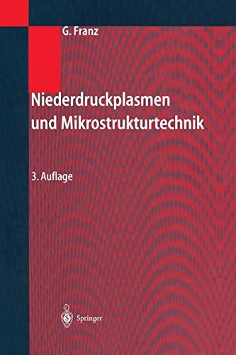 Niederdruckplasmen und Mikrostrukturtechnik