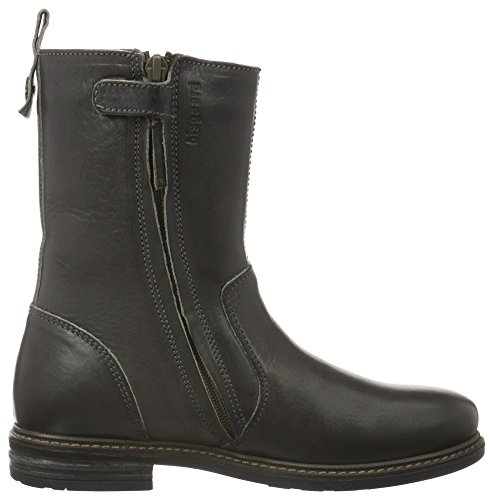 Bisgaard TEX boot, Bottes courtes avec doublure chaude fille Gris (5000 Syren)